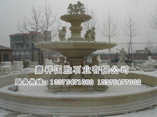 欧式喷泉施工图